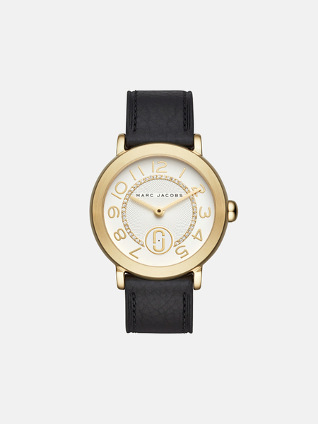 Marc by Marc Jacobs Riley Watch - black/gold