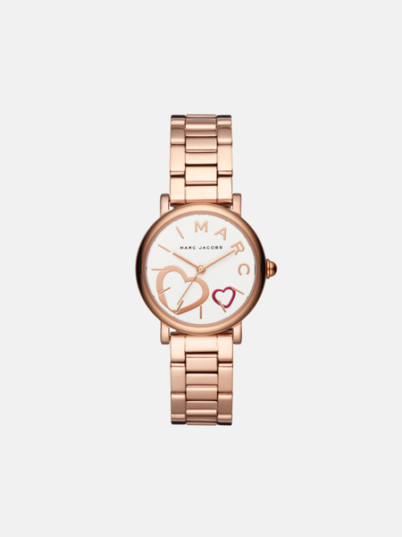 Marc by Marc Jacobs petite classic Watch - rose gold/white