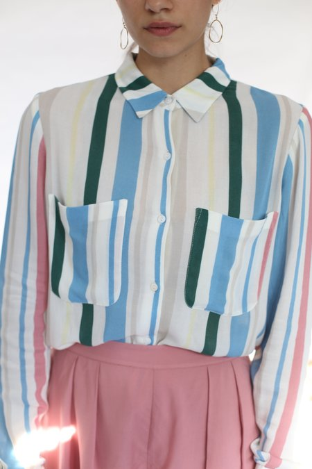 Samsoe & Samsoe Milly Shirt - Cottage Stripe