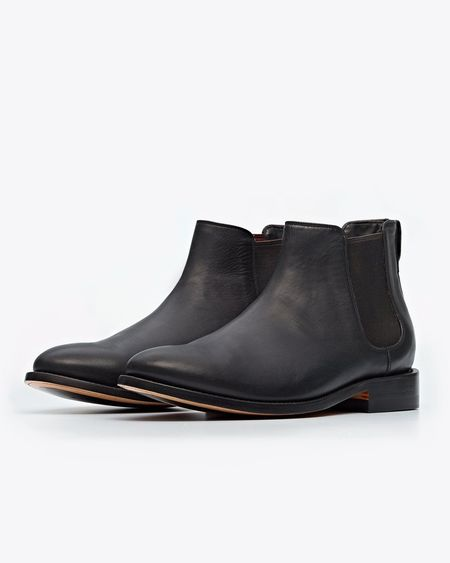 Nisolo Chelsea Boot - Black