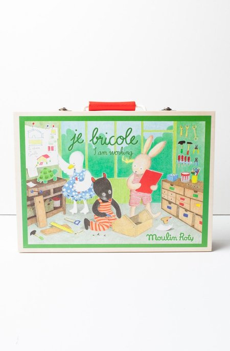 Kids Magic Forest I Am Working Wooden Tool Set