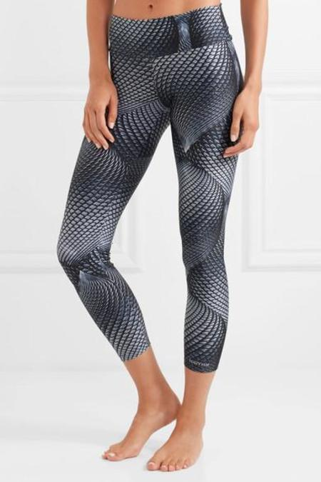 BODYISM  I Am Visionary Printed Stretch-Jersey Leggings