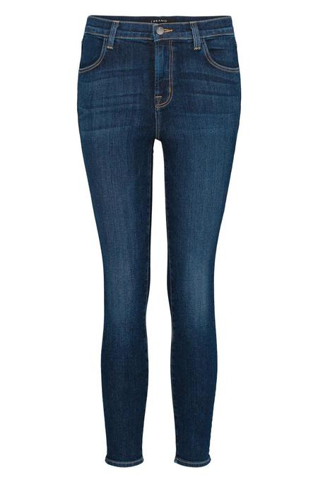 J Brand Alana High Rise Cropped Jeans - Mesmeric