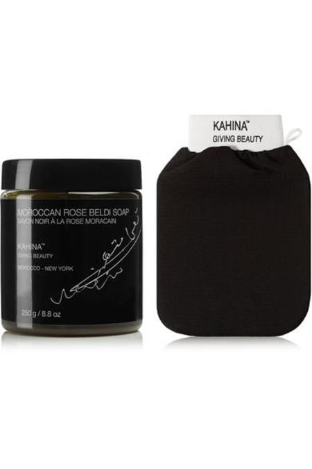 Kahina Giving Beauty Kahina Rose Beldi Soap & Kessa Mitt