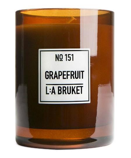 L:A BRUKET Grapefruit Candle