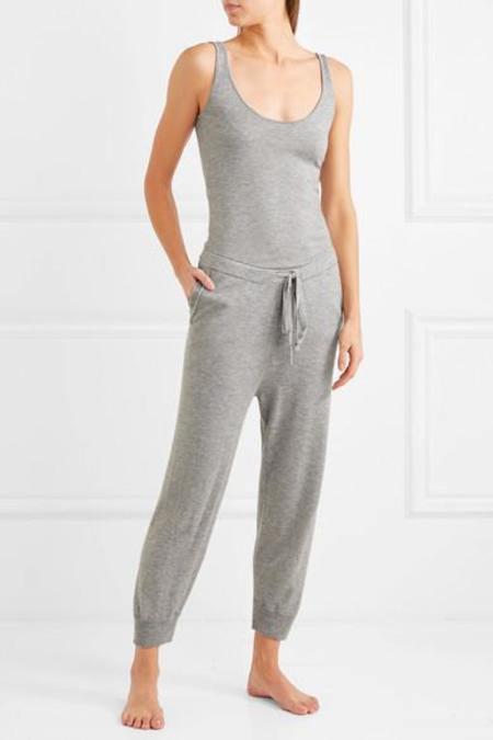 SKIN Monet Wool Modal and Cashmere-Blend Jumpsuit - GREY