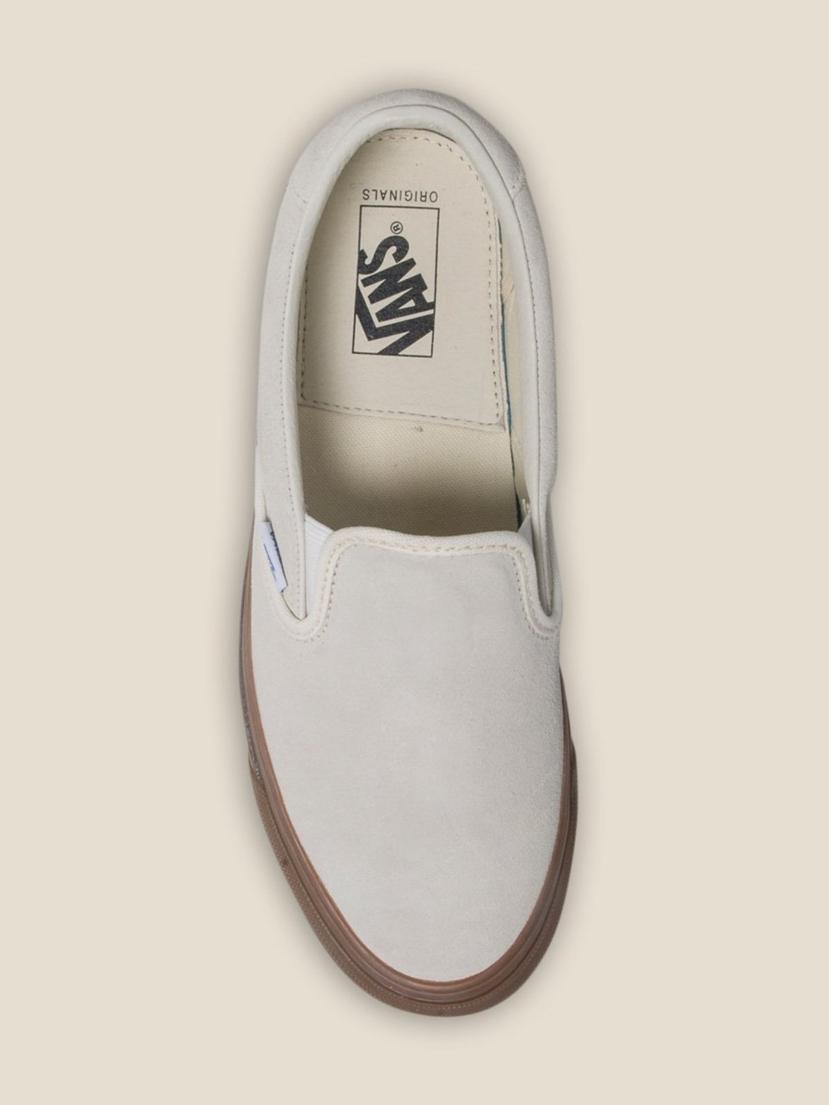 381f5918430 VANS VAULT OG Slip-On 59 LX (Suede) - Sugar Swizzle Light Gum ...