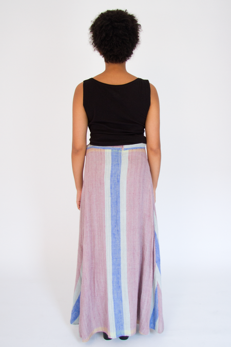 Bhoomki Peace Silk Wrap Skirt
