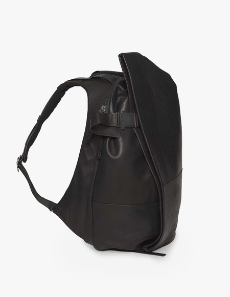 Côte & Ciel Isar Medium Rucksack Alias Leather - Black