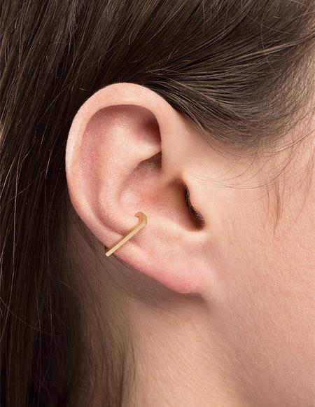 The Boyscouts Rivet Cuff Pair Earring - Silver