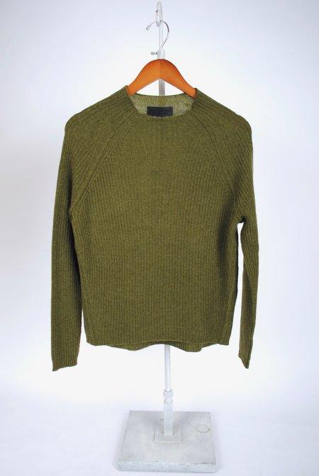 Nili Lotan Rylan Cashmere Sweater - Campo Green