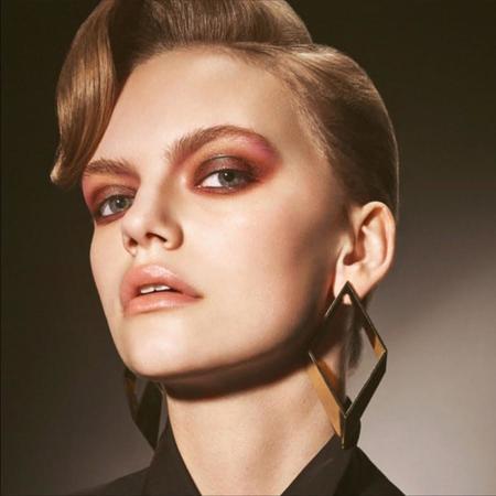 Haartstick Statement Rhombus Earrings