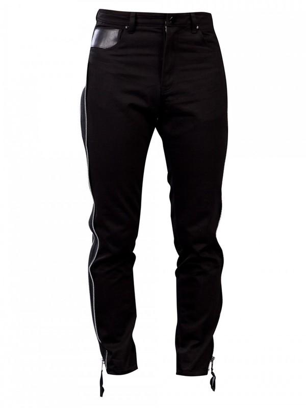 Men's Horace Jeans with Zip Details
