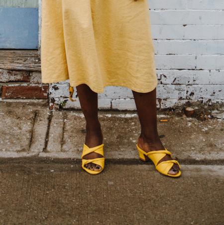 Samantha Pleet Tabernacle Sandals - Yellow