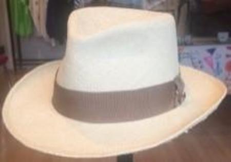 Fumille Mid West Fedora Hat - Cream