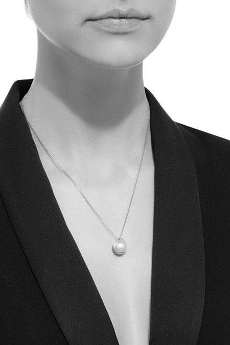 Nataf White/Black Gem Grade Pearl Pendant