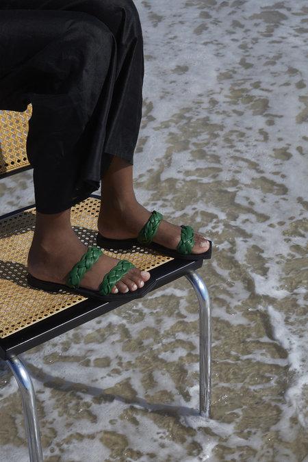 Parme Marin Braided Mono Sandal - Sun