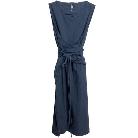 Uzi NYC Oxford Dress - NAVY