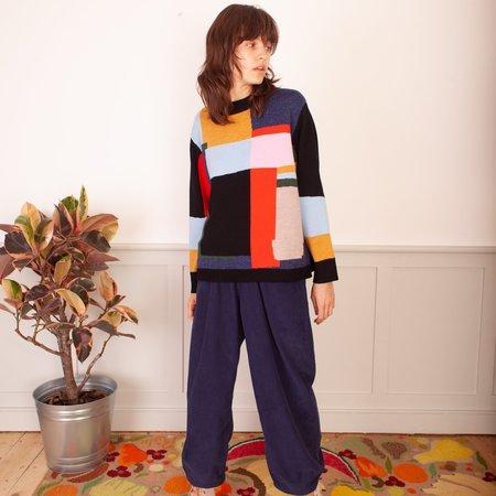 LF Markey Benjamin Knit - Colourblocked
