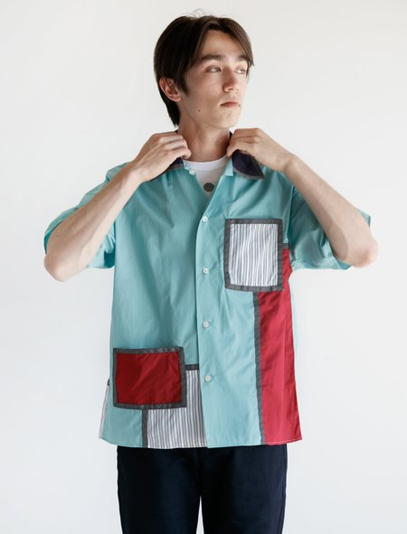 Phingerin View Shirt - Aqua