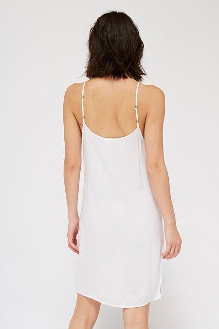 Lacausa Easy Slip Dress - Whitewash