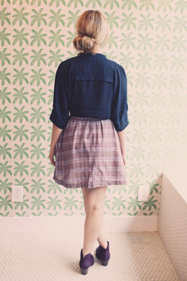 Mary Meyer Silk Loom Skirt