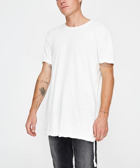 Men's Ksubi Retweet Short Sleeve Tee - Worn in White