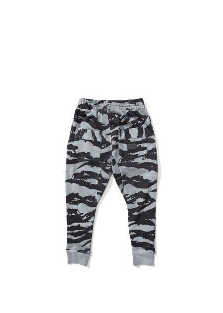 Kids Munsterkids Black Tiger Camo Sweatpants