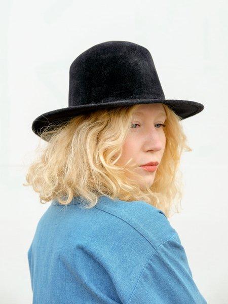 Brookes Boswell CANNA hat IN FINE FUR FELT