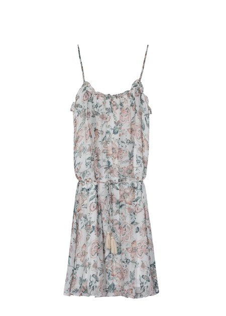 Louise Misha Tropical White Hawaiana Dress