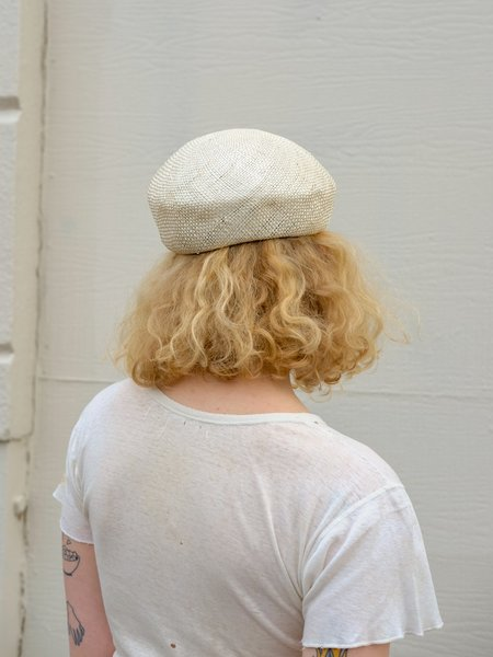 Brookes Boswell RUBIN hat - NATURAL STRAW