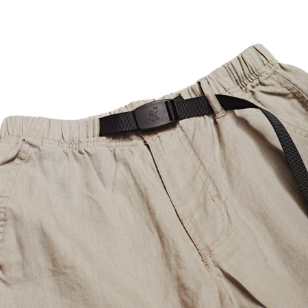 Unisex Gramicci Linen Shorts - Grege