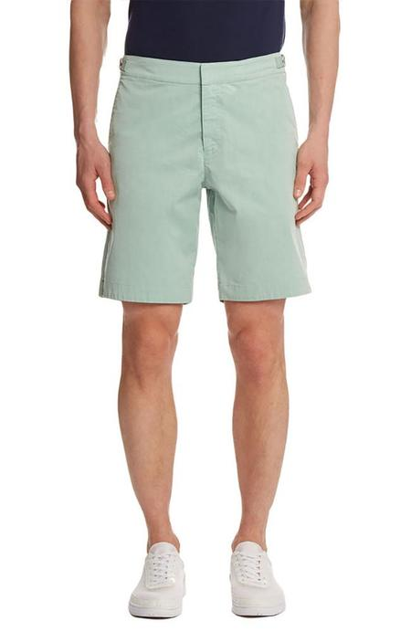 Orlebar Brown Dane Two Tone Longest-Length Swim Shorts - Lawn