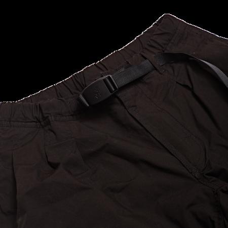 Unisex Gramicci Weather Pumpkin Shorts - Black