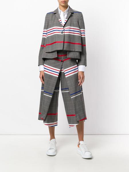 Henrik Vibskov Sleep Over Trousers - Classic Checks Stripe