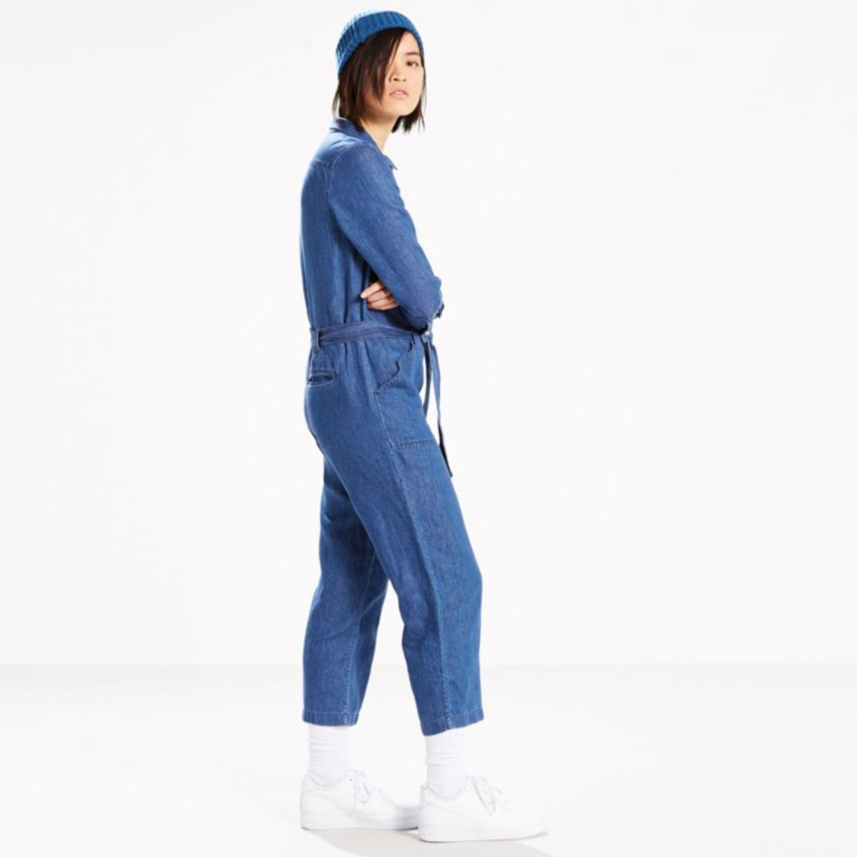 e4a48052c198 Levi s Premium Alix Jumpsuit in Medium Authentic