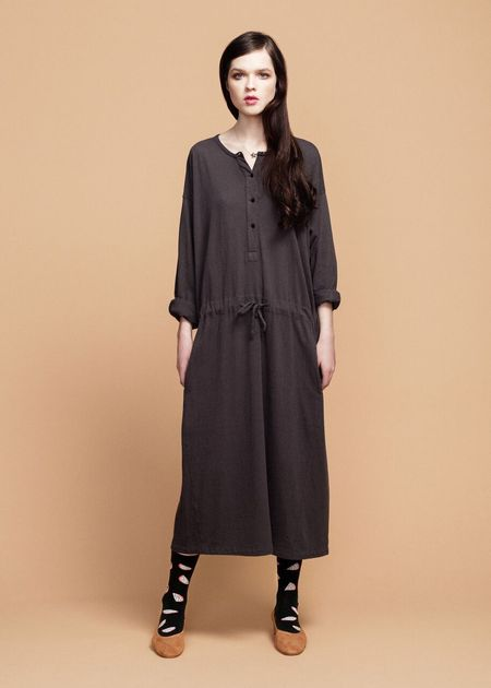 Hansel from Basel Dresden Dress - Dark Gray