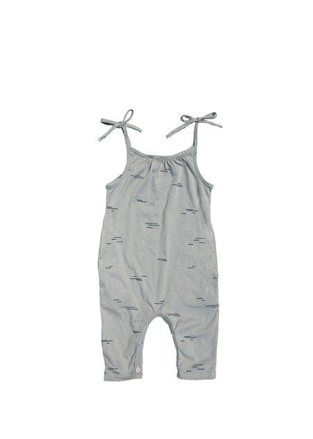 Kids Go Gently Nation Line Jumpsuit - Eucalyptus