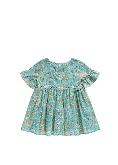 Kids Louise Misha Girls Sakina Dress - Bloom Flower