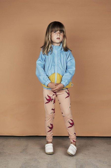 Kids Mini Rodini SWALLOWS LEGGINGS - PINK