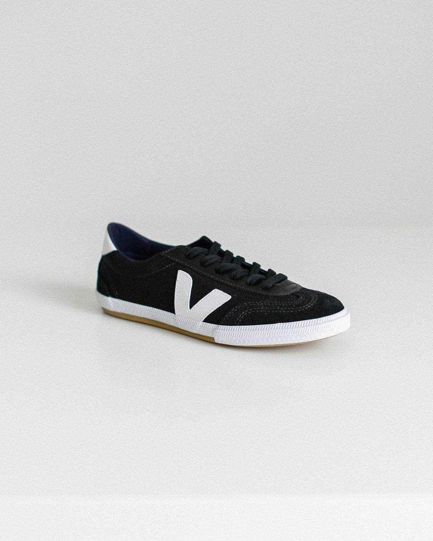 UNISEX Veja Volley Shoes - Black/White