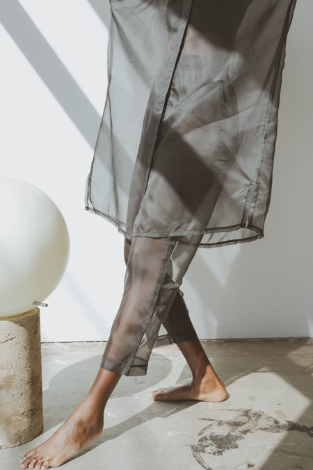 OR Organza Elastic Pant - Grey