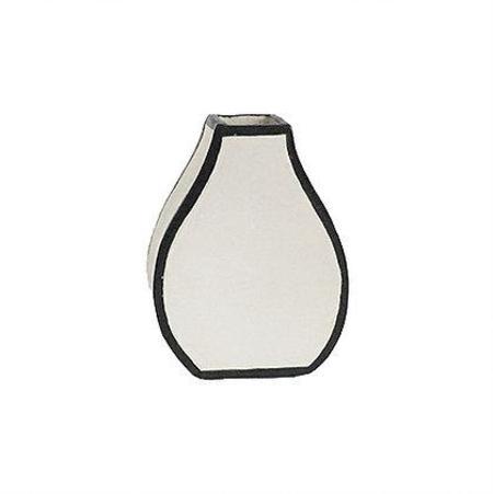 Alyssa Block Small Drawn Vase