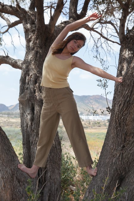 Caron Callahan Howell Pant - Khaki