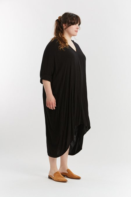 Miranda Bennett Muse Rayon Dress - Black