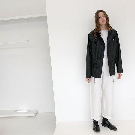 UNISEX Stutterheim Stenhamra Short Raincoat - Black