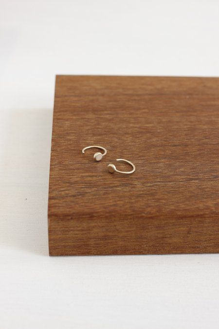 CLP Open Hoop Earring - gold