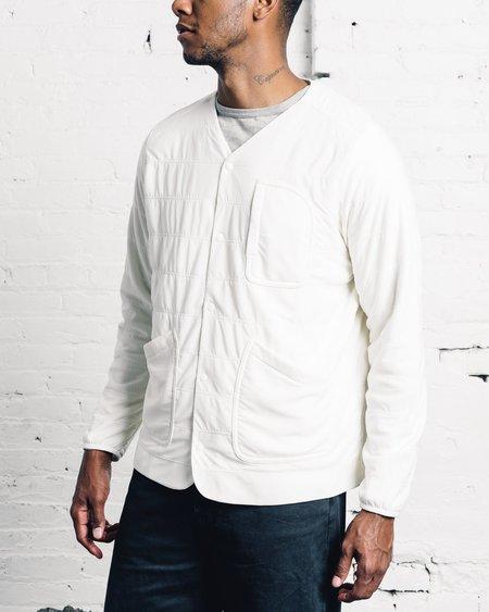 Snow Peak Flexible Insulated Cardigan - White