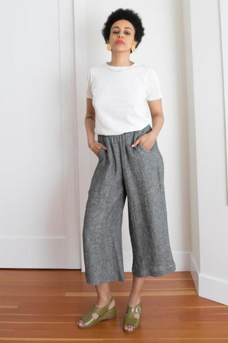 Gravel & Gold Set Pant - Salt & Pepper