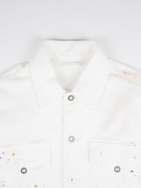 Our Legacy De Con Jacket - White Decksplatter